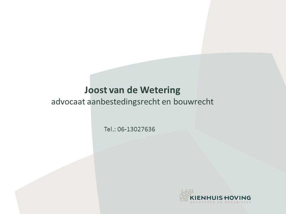 advocaat aanbestedingsrecht en bouwrecht