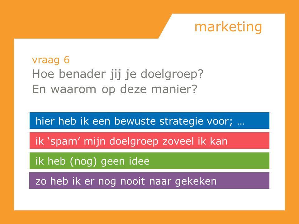 marketing Hoe benader jij je doelgroep En waarom op deze manier