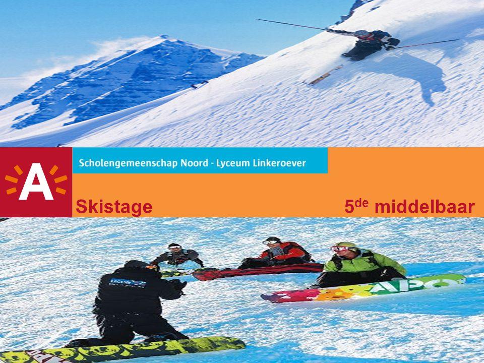 Skistage 5de middelbaar