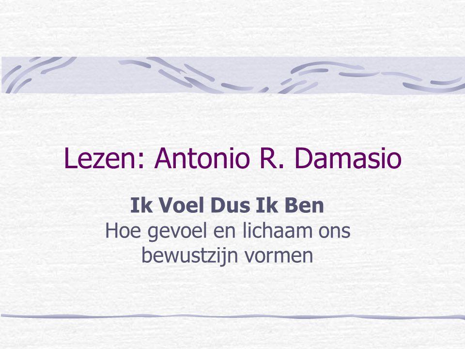 Lezen: Antonio R. Damasio