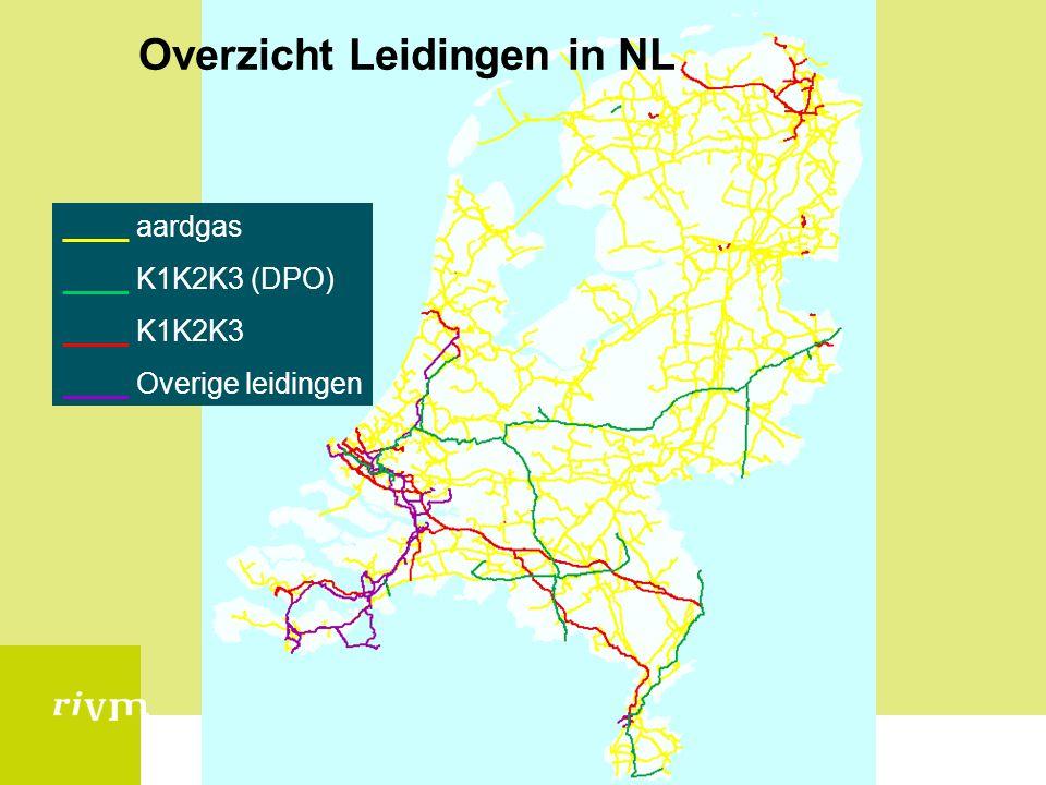 Overzicht Leidingen in NL