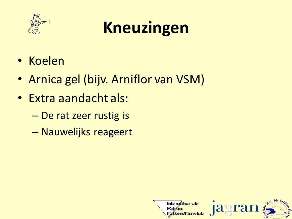 Kneuzingen Koelen Arnica gel (bijv. Arniflor van VSM)