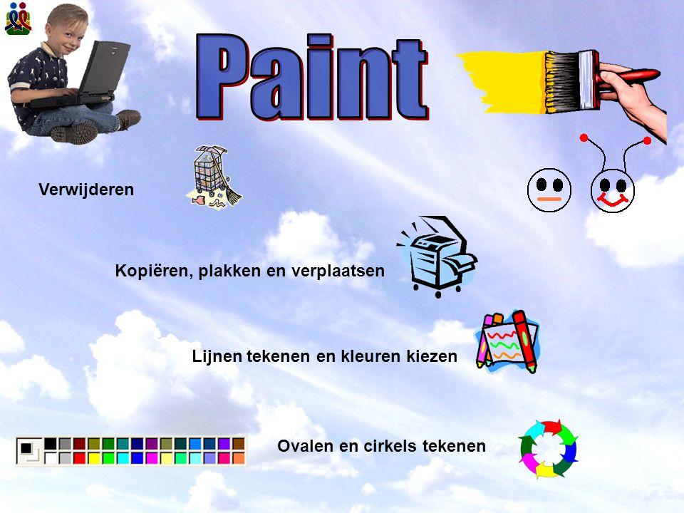 Paint Verwijderen Kopiëren, plakken en verplaatsen