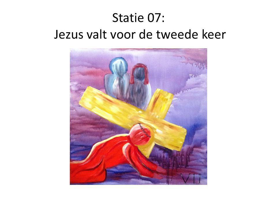 Statie 07: Jezus valt voor de tweede keer