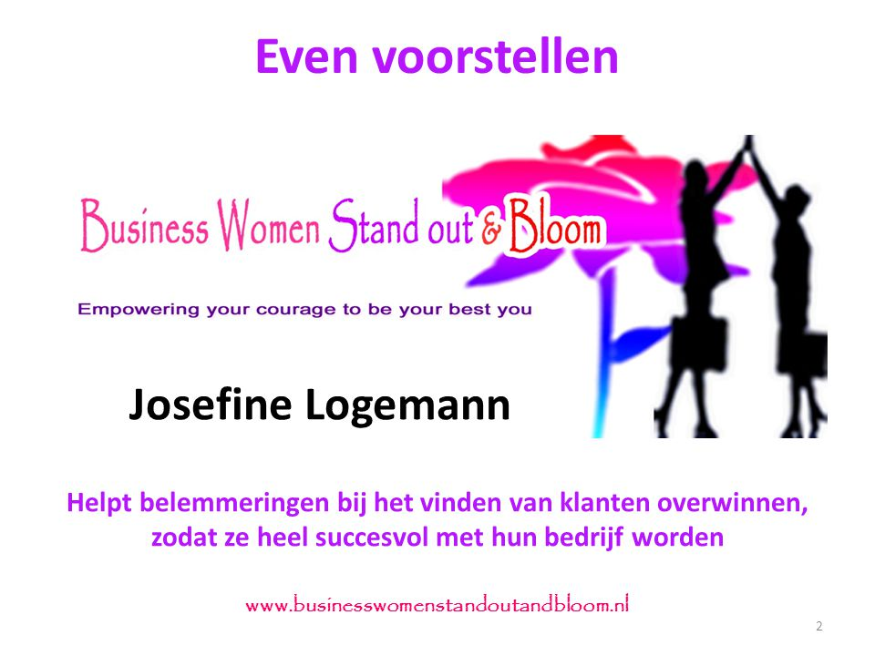 Even voorstellen Josefine Logemann