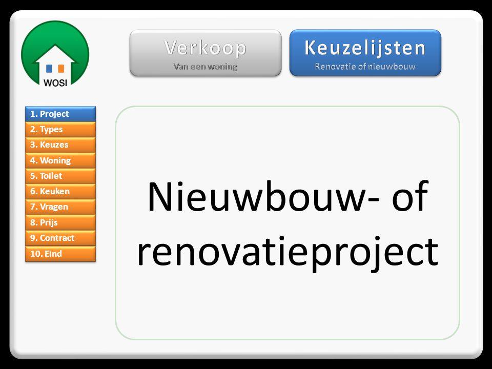 Renovatie of nieuwbouw
