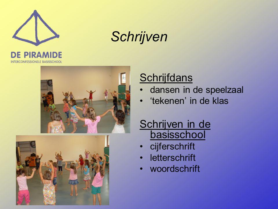Schrijven Schrijfdans Schrijven in de basisschool