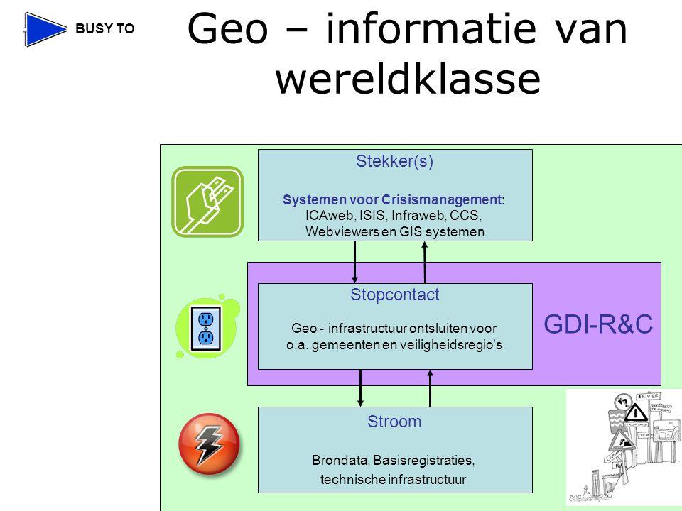 Geo – informatie van wereldklasse