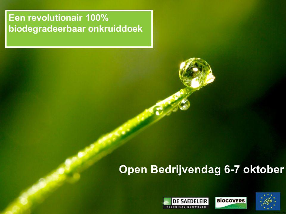 Open Bedrijvendag 6-7 oktober