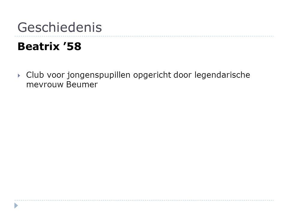 Geschiedenis Beatrix '58