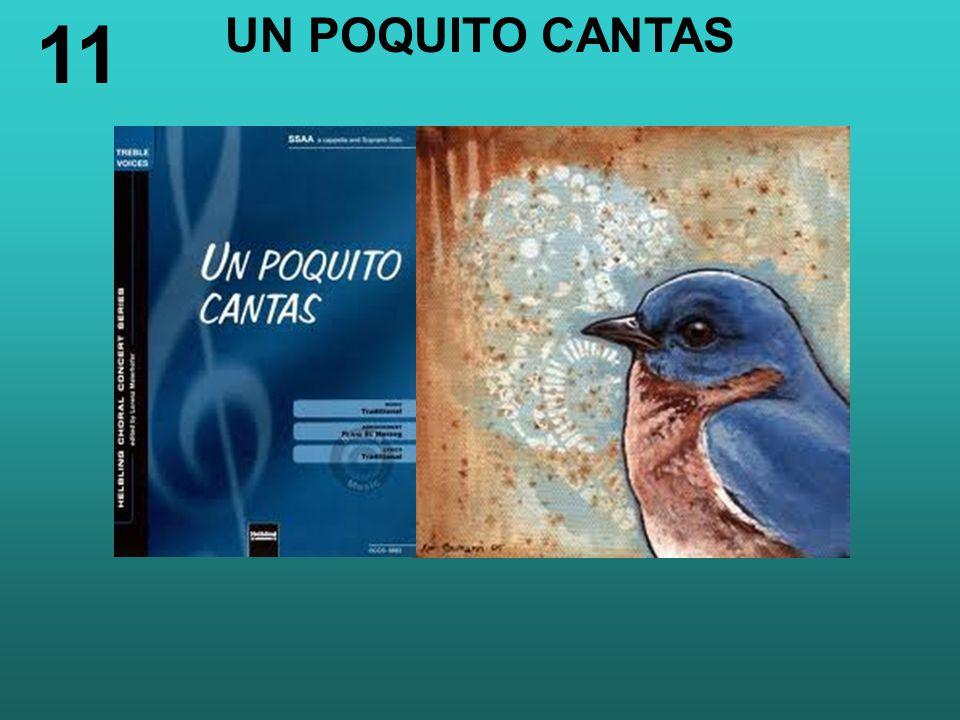 UN POQUITO CANTAS 11