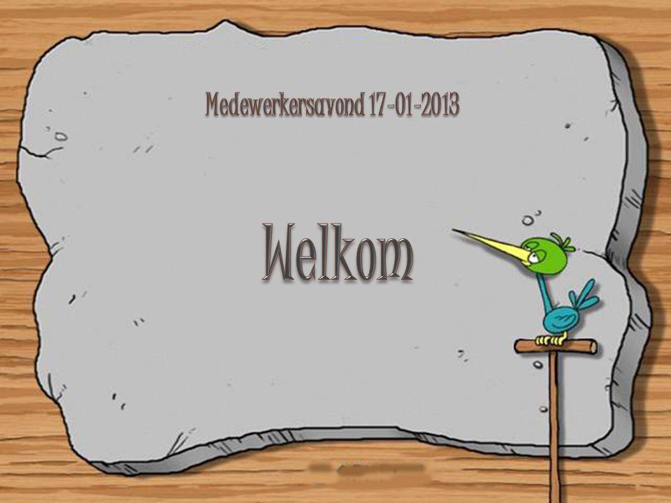 Medewerkersavond 17-01-2013 Welkom