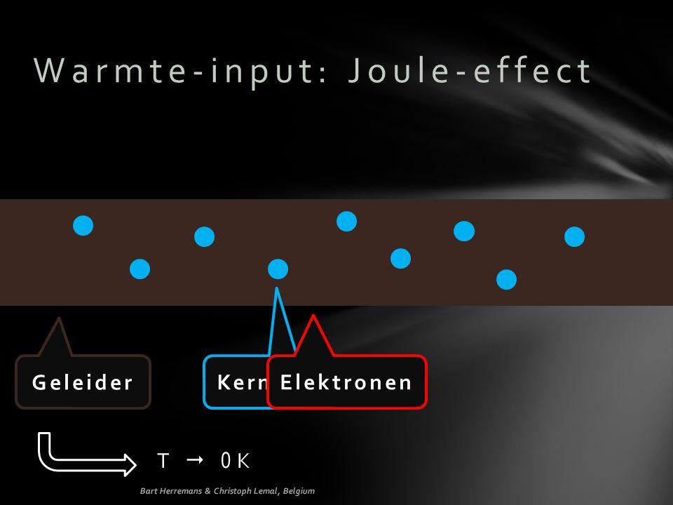 Warmte-input: Joule-effect
