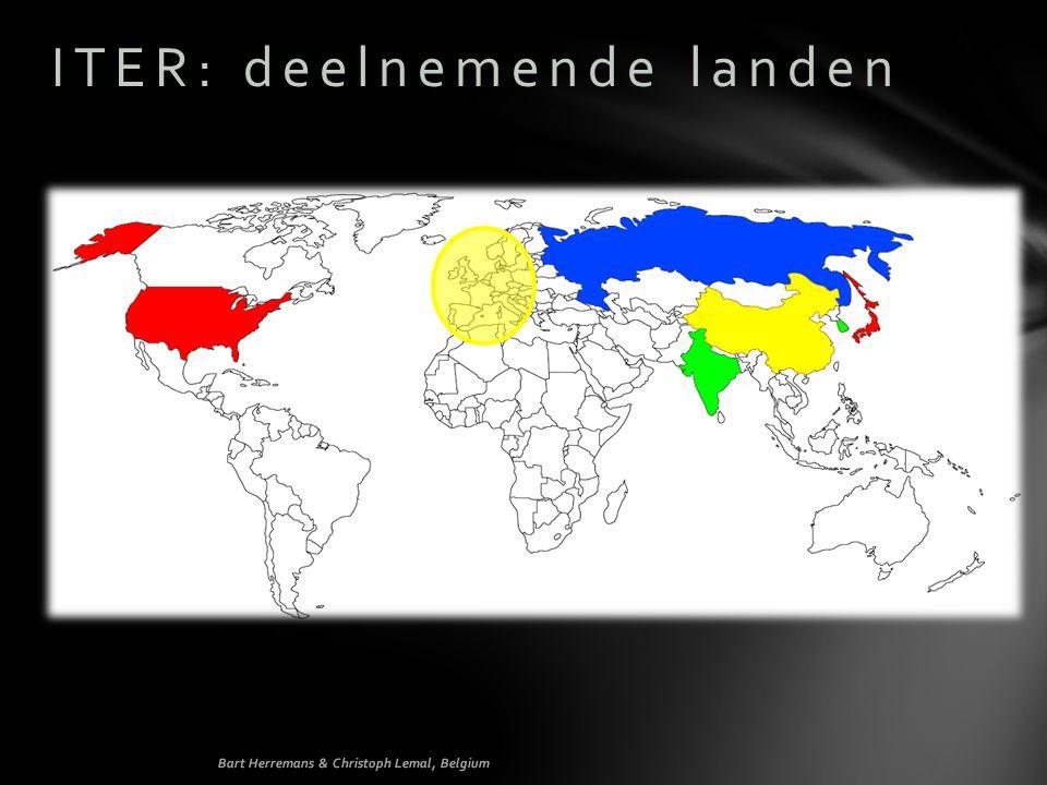 ITER: deelnemende landen