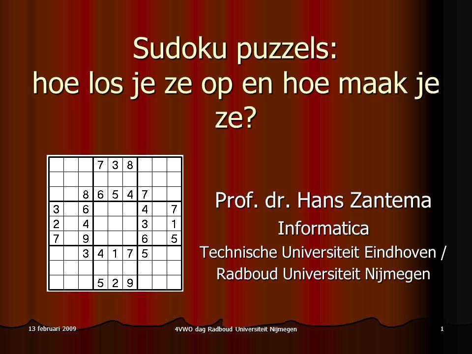 Sudoku puzzels: hoe los je ze op en hoe maak je ze