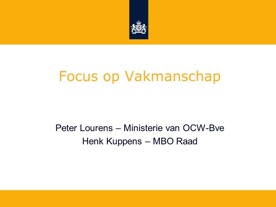 Peter Lourens – Ministerie van OCW-Bve
