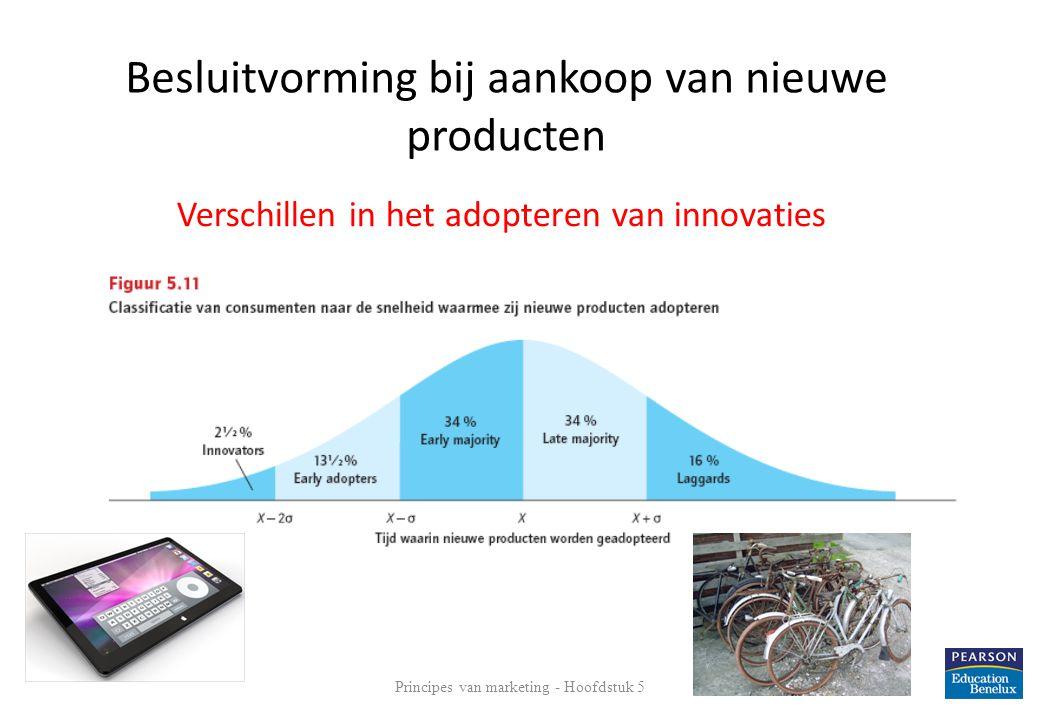 Verschillen in het adopteren van innovaties
