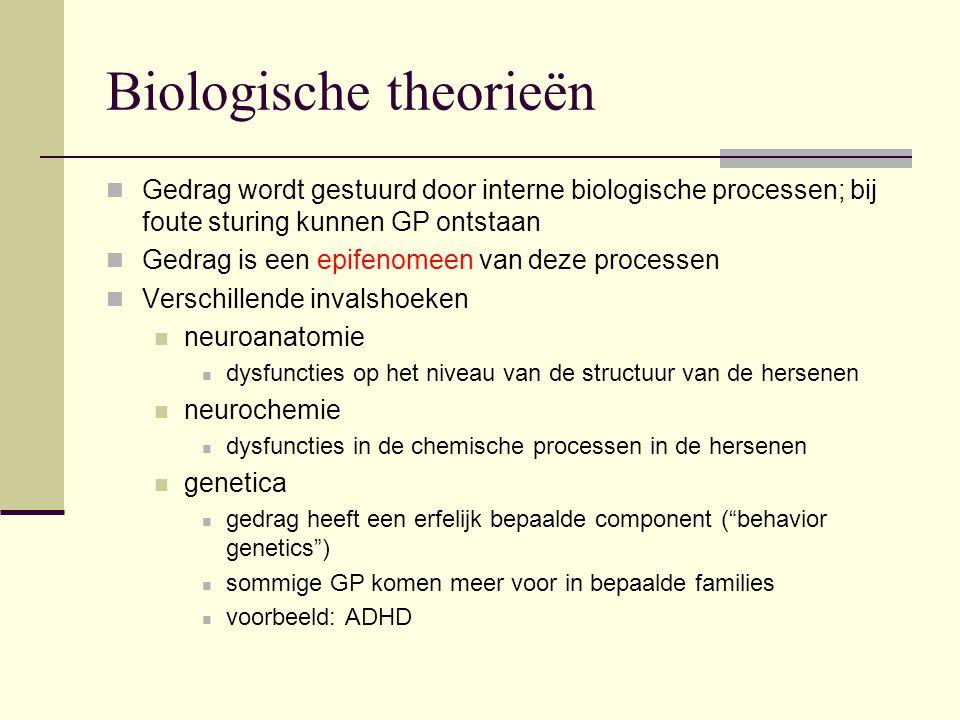 Biologische theorieën