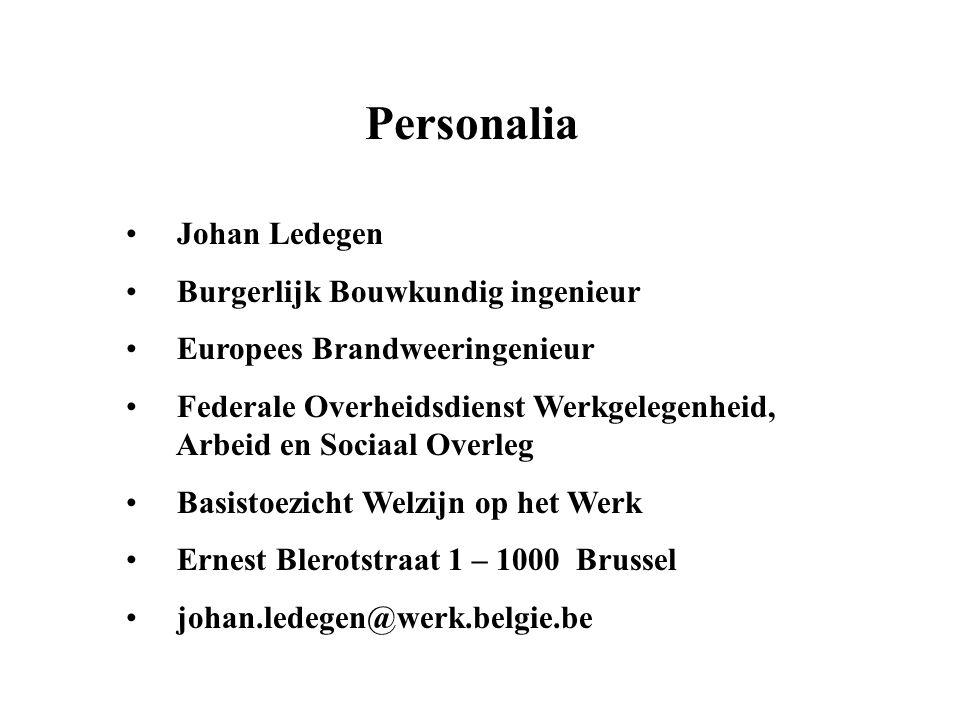 Personalia Johan Ledegen Burgerlijk Bouwkundig ingenieur
