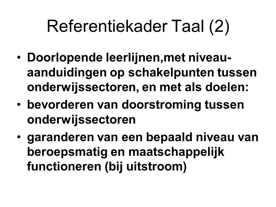 Referentiekader Taal (2)