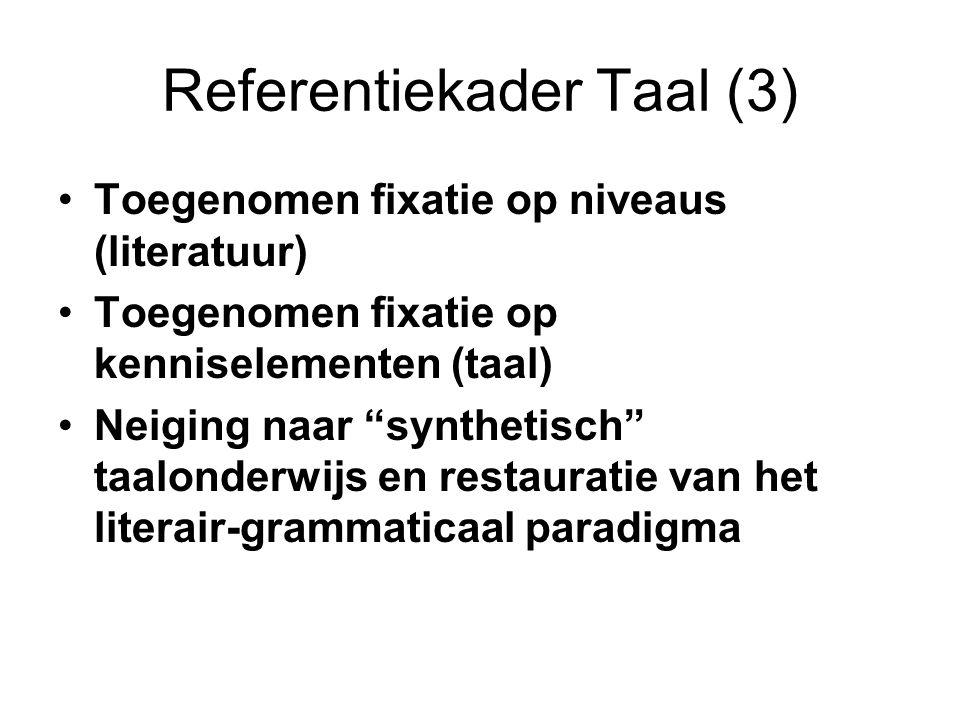 Referentiekader Taal (3)