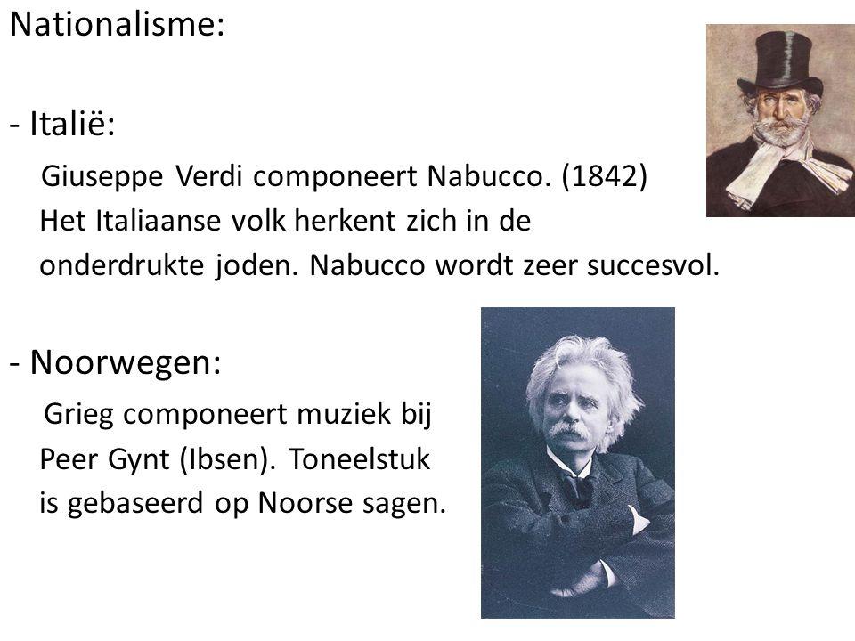 Giuseppe Verdi componeert Nabucco. (1842)