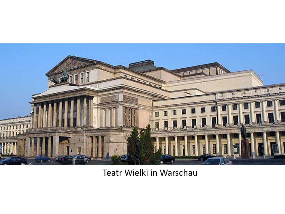 Teatr Wielki in Warschau