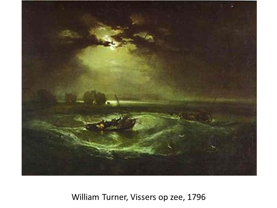 William Turner, Vissers op zee, 1796