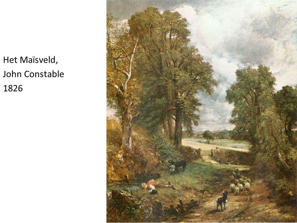 Het Maïsveld, John Constable 1826