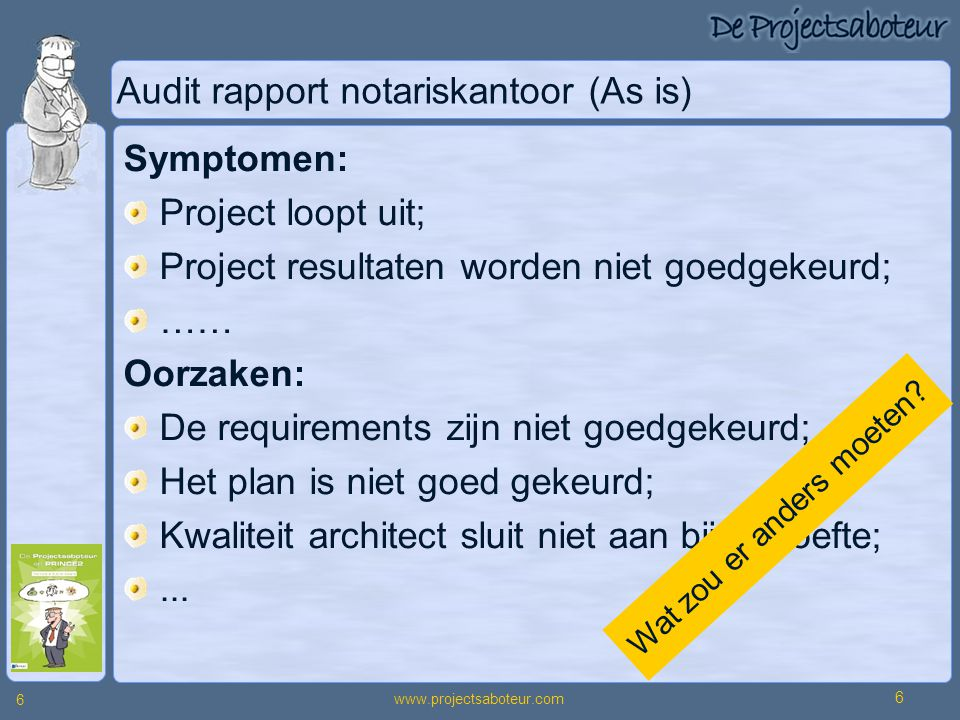 Audit rapport notariskantoor (As is)