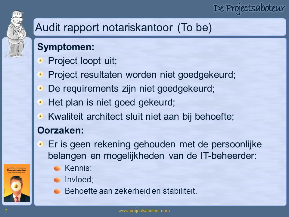 Audit rapport notariskantoor (To be)