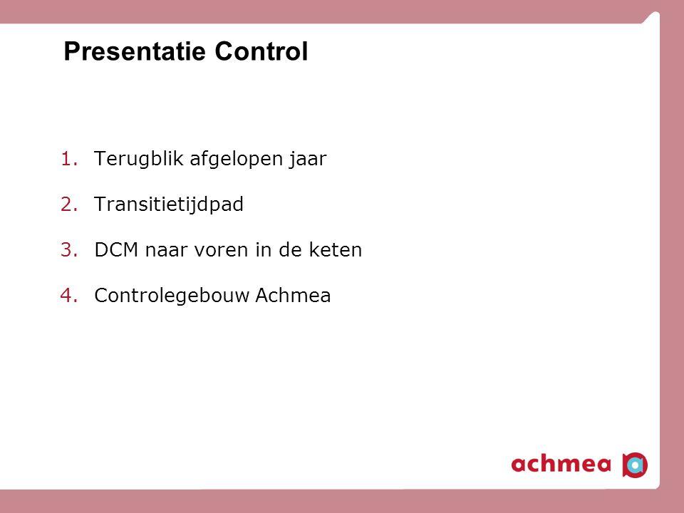 Presentatie Control Terugblik afgelopen jaar Transitietijdpad