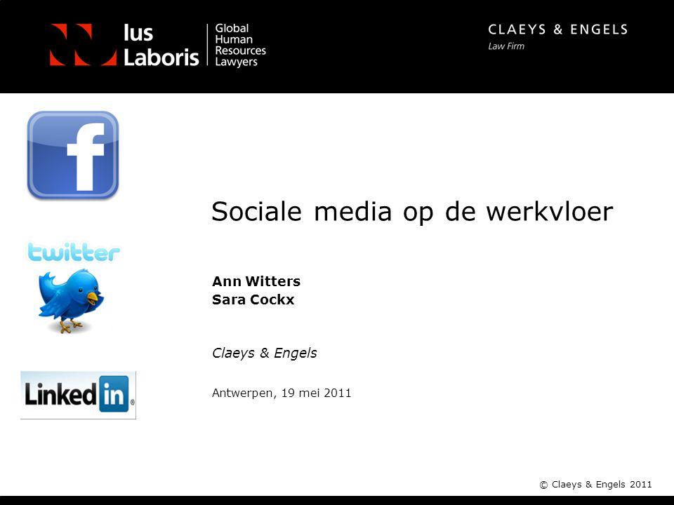 Sociale media op de werkvloer