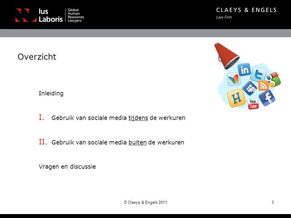 Overzicht Inleiding Gebruik van sociale media tijdens de werkuren