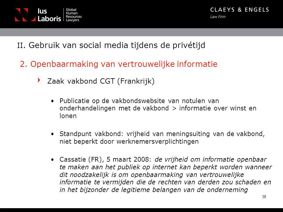 Zaak vakbond CGT (Frankrijk)