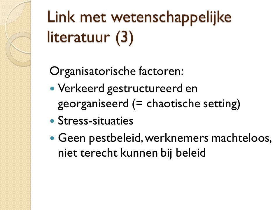 Link met wetenschappelijke literatuur (3)