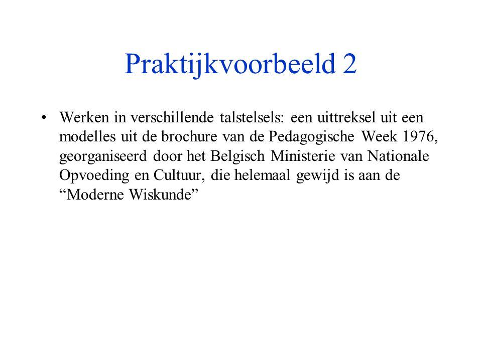 Praktijkvoorbeeld 2