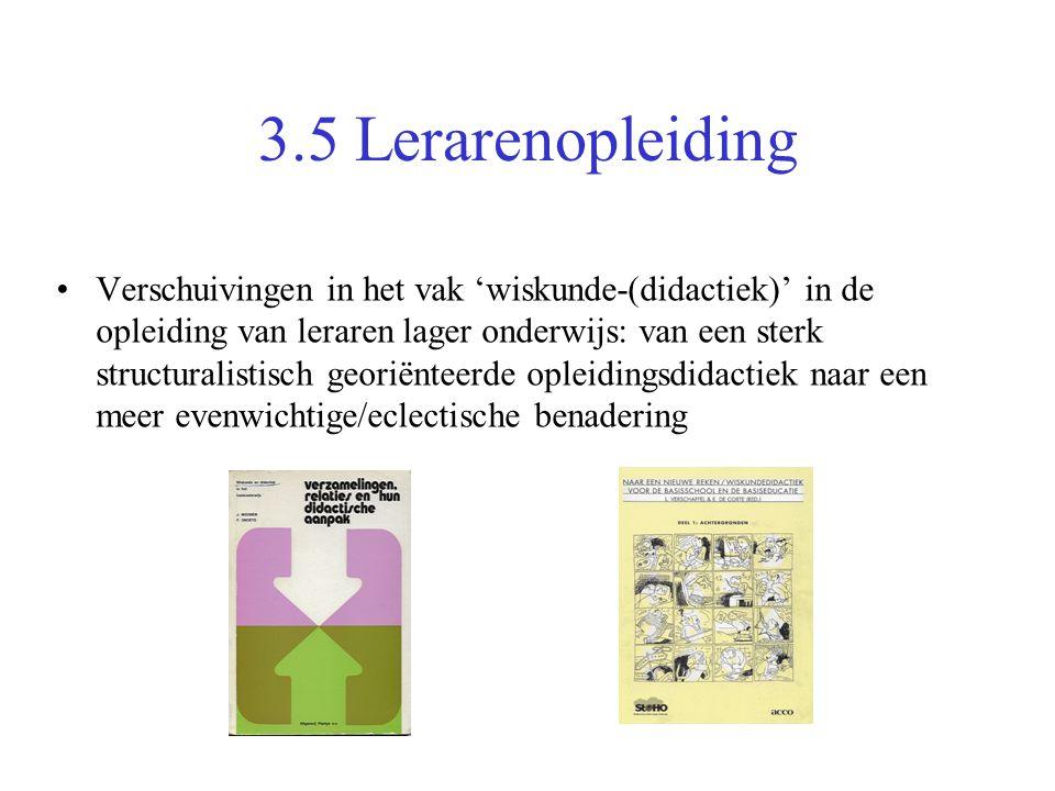 3.5 Lerarenopleiding