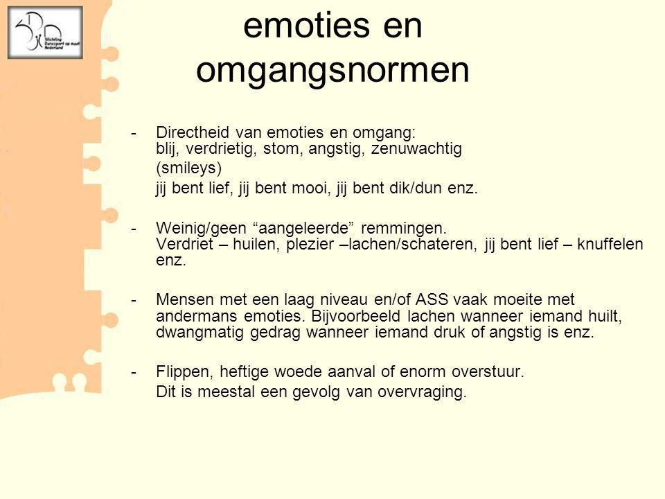 emoties en omgangsnormen
