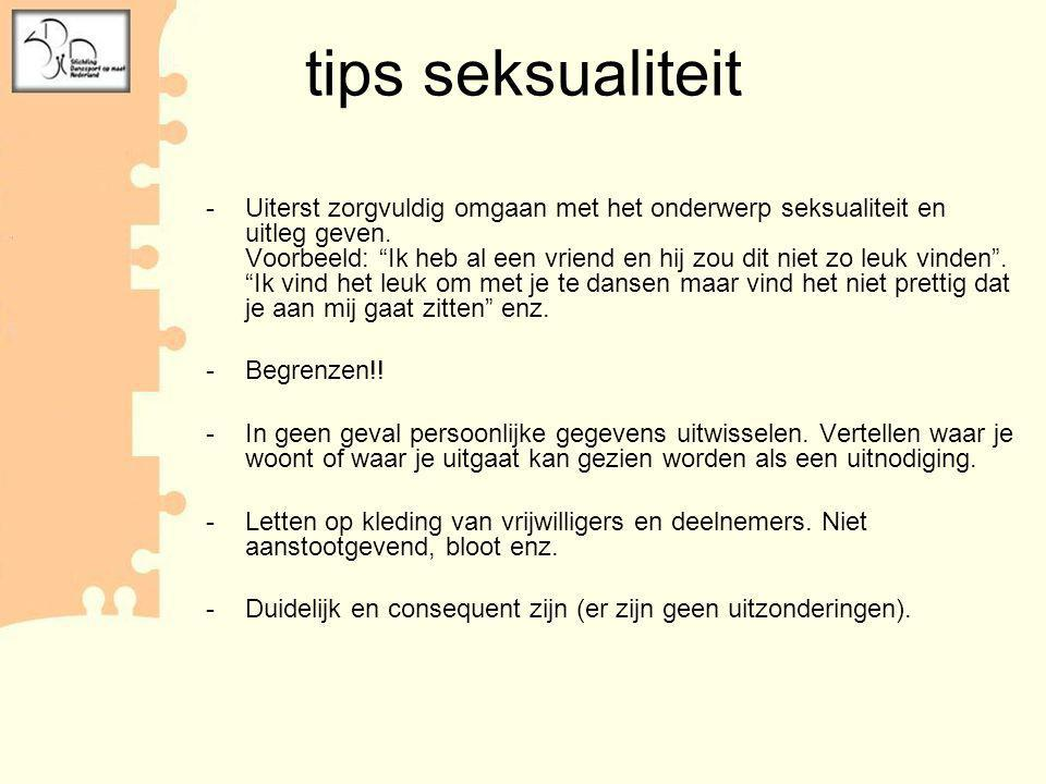 tips seksualiteit