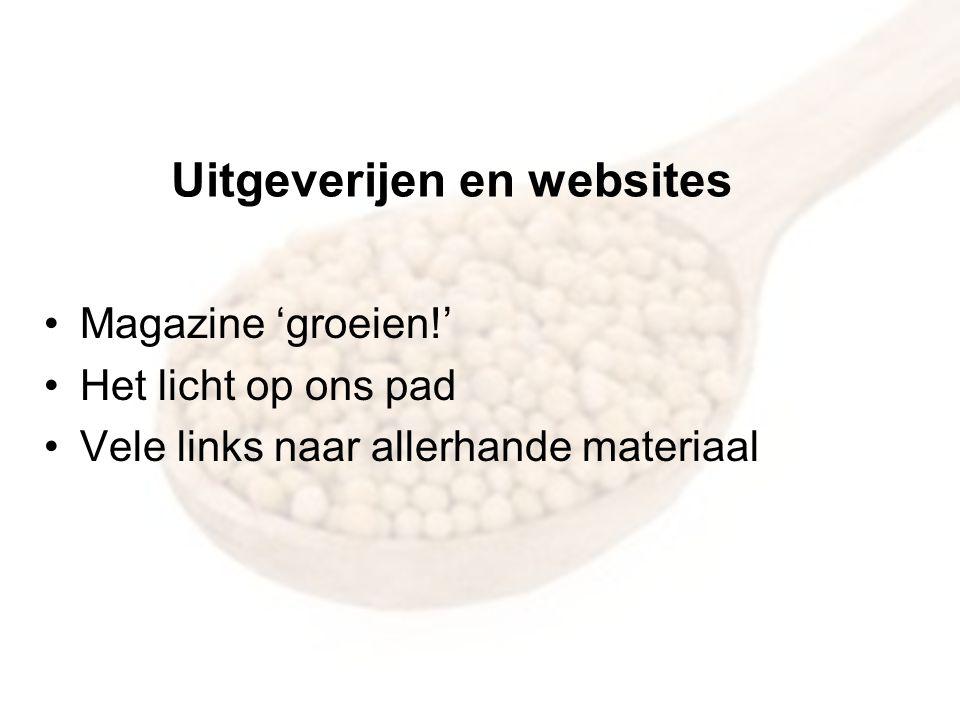 Uitgeverijen en websites