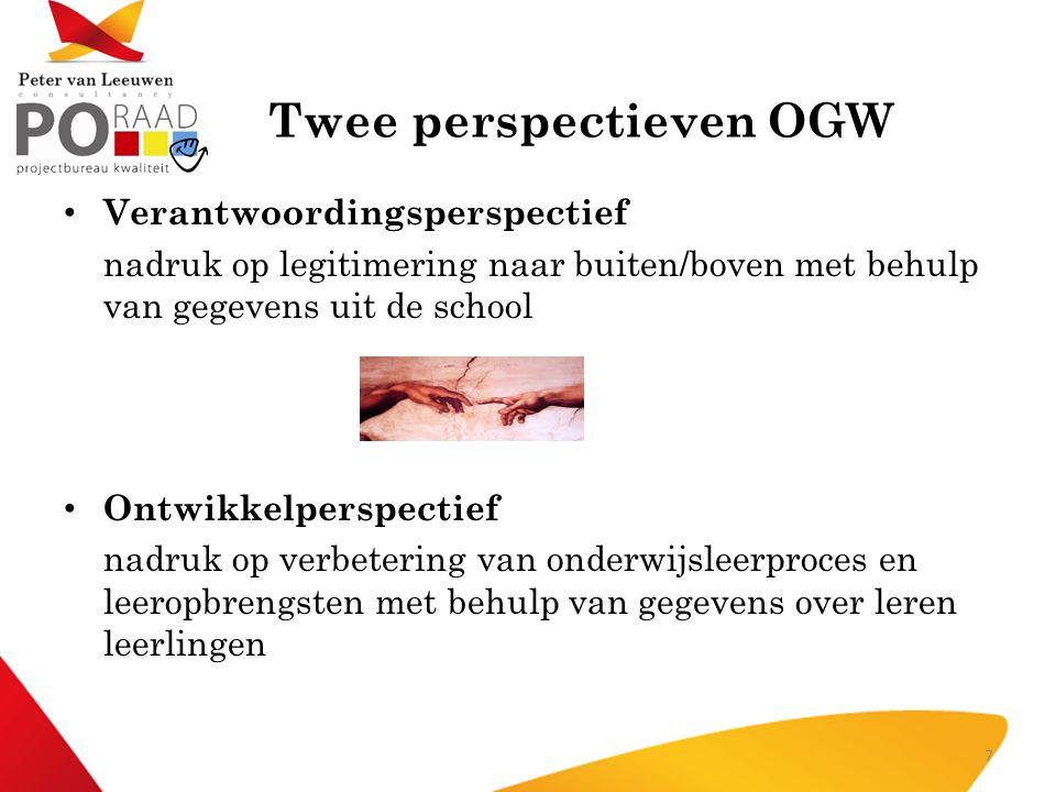 Twee perspectieven OGW