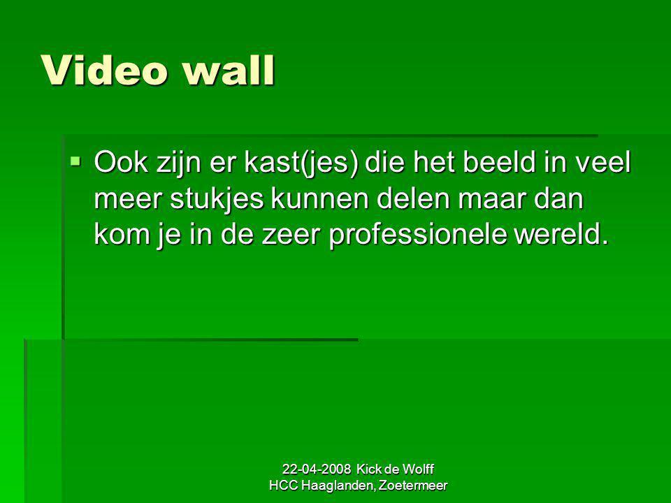 22-04-2008 Kick de Wolff HCC Haaglanden, Zoetermeer