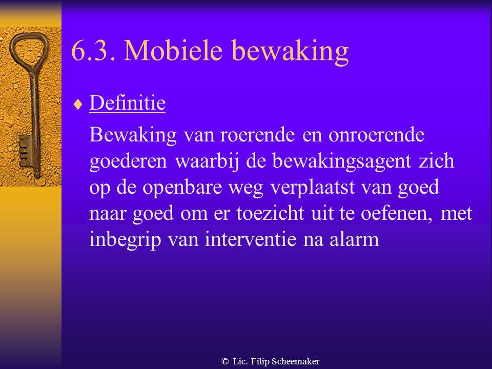 6.3. Mobiele bewaking Definitie
