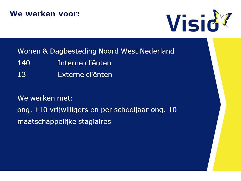 Wonen & Dagbesteding Noord West Nederland