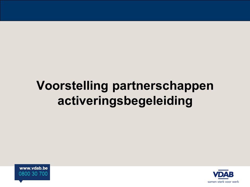 Voorstelling partnerschappen activeringsbegeleiding