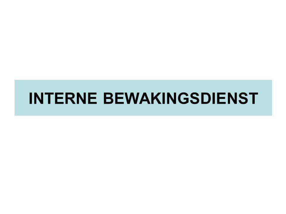 INTERNE BEWAKINGSDIENST