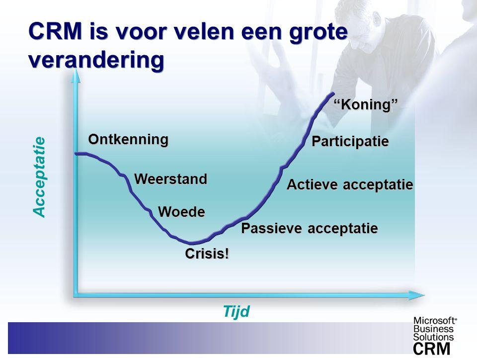 CRM is voor velen een grote verandering