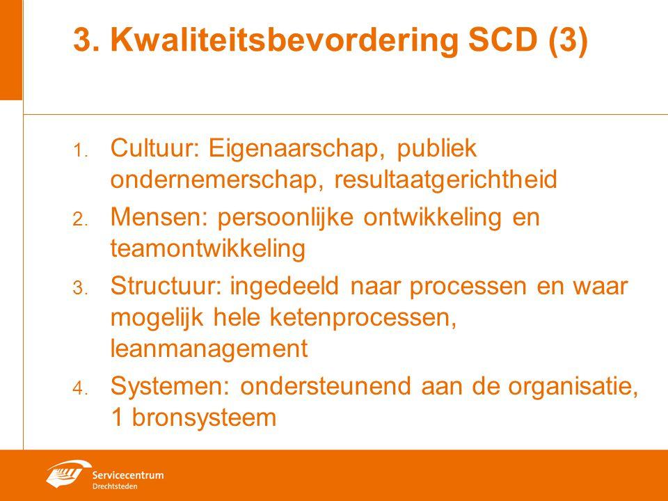 3. Kwaliteitsbevordering SCD (3)