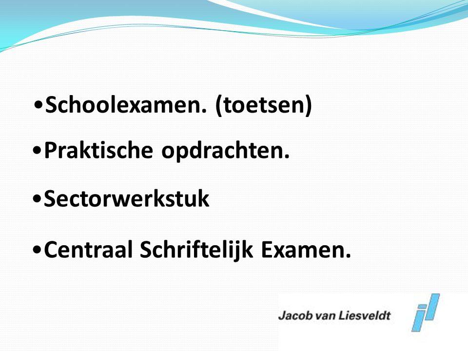 Schoolexamen. (toetsen)